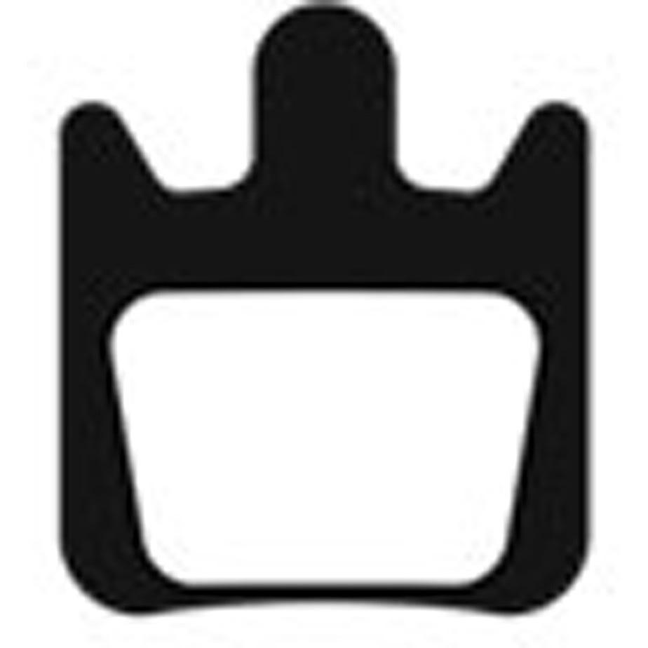 Aztec Organic disc brake pads for Hope Tech X2 callipers