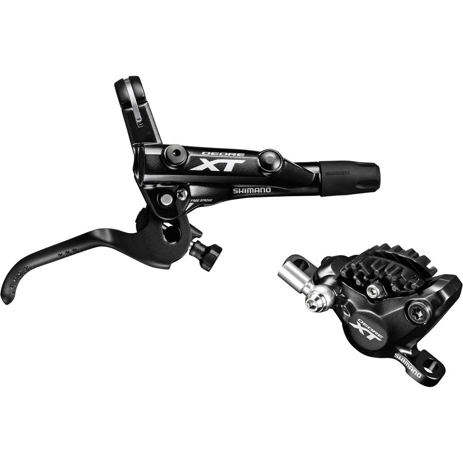 Shimano Deore XT BR-M8000 XT bled I-spec-II compatible brake lever and calliper