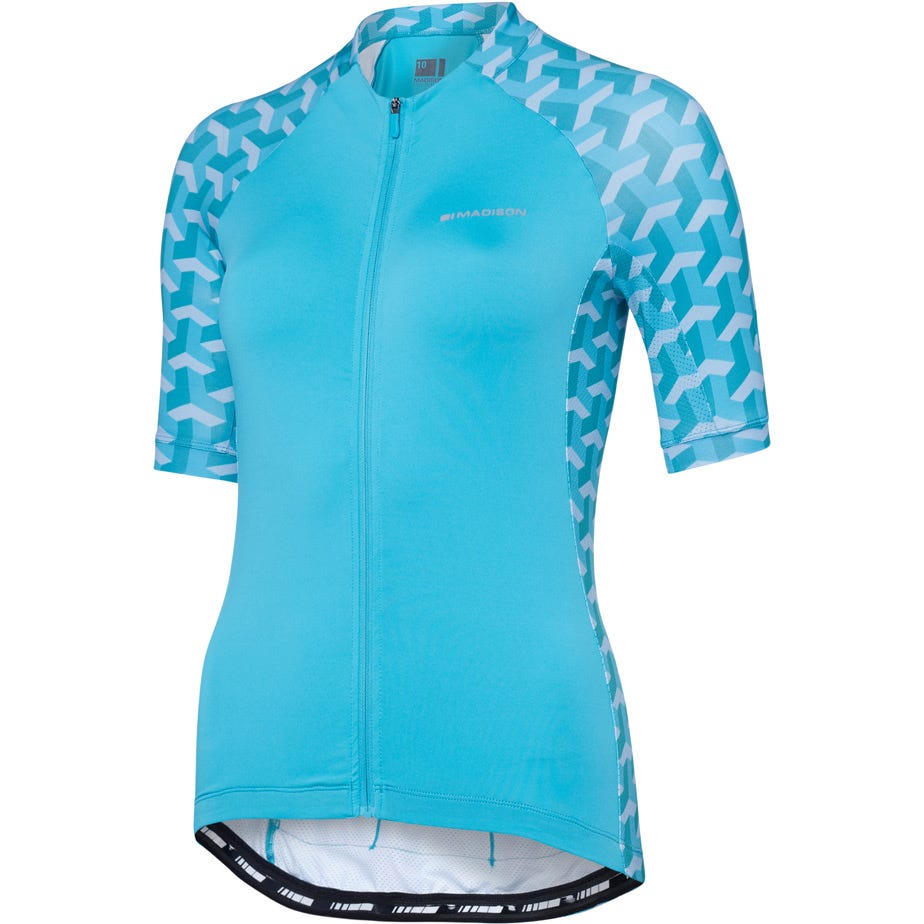 Madison Sportive women's short sleeve jersey, geo camo