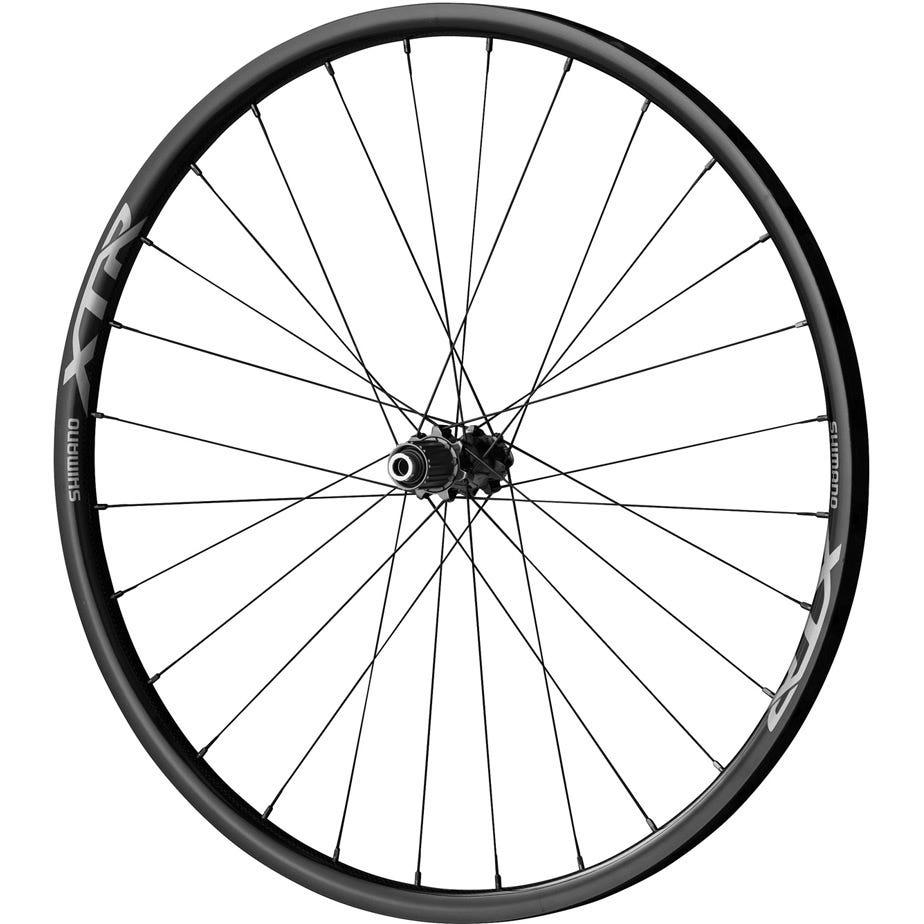 Shimano XTR WH-M9000-TU XC wheels, carbon tubular for Centre-Lock disc brake