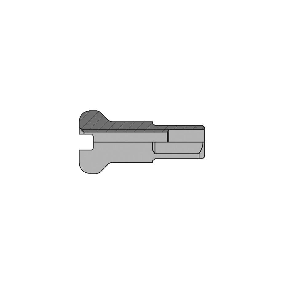 DT Swiss 2 mm brass nipples silver (box of 100)