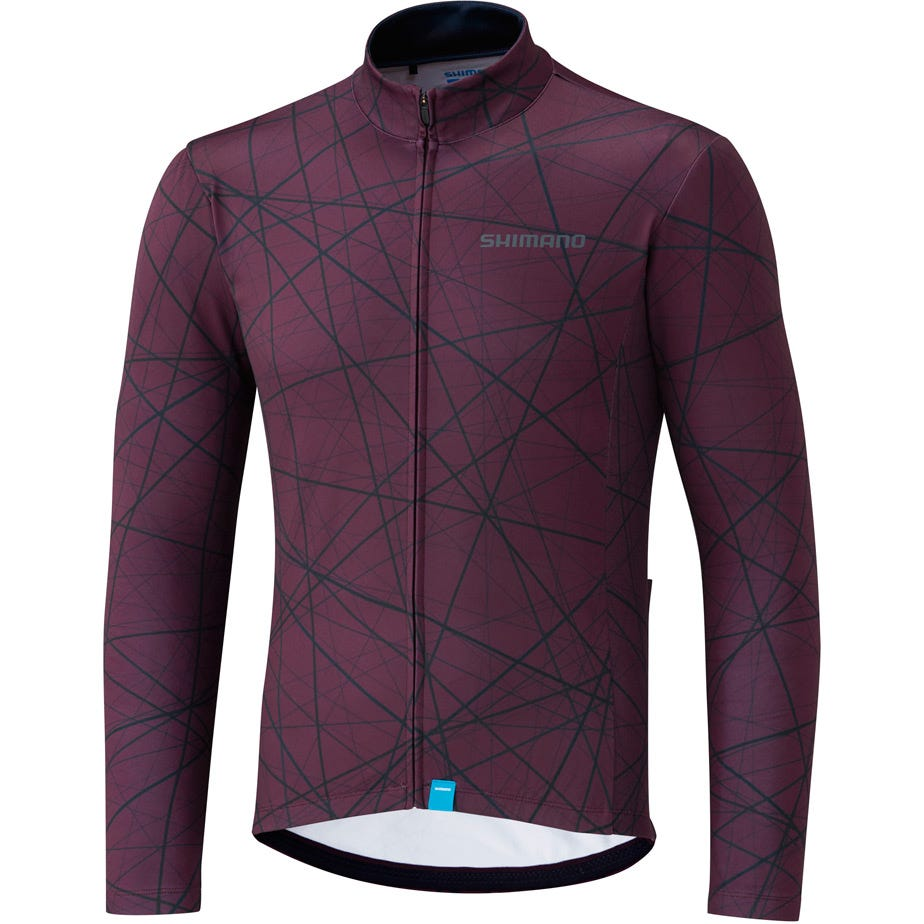 Shimano Clothing Men's Team Long Sleeve Jersey