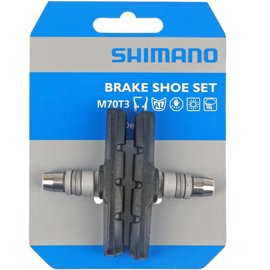 Shimano Deore M600 (for LX / Deore / Alivio V-brake) one-piece brake blocks