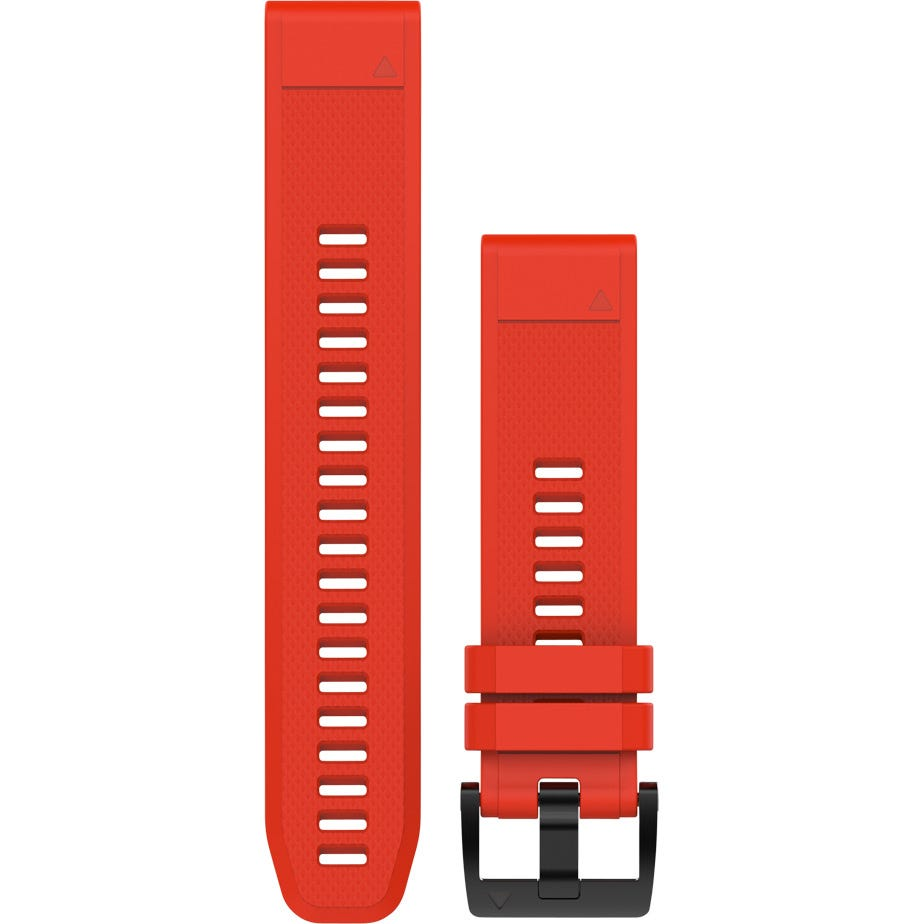 Garmin Quickfit 22 watch band - flame red