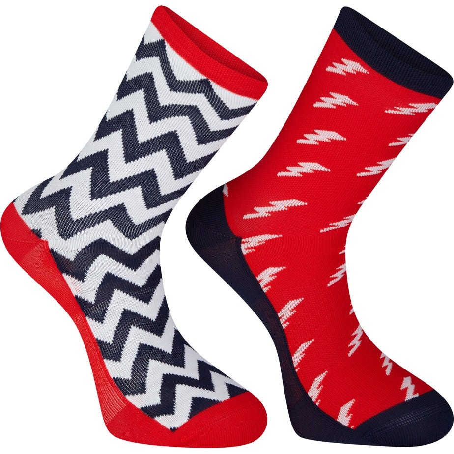 Madison Sportive long sock twin pack, bolts