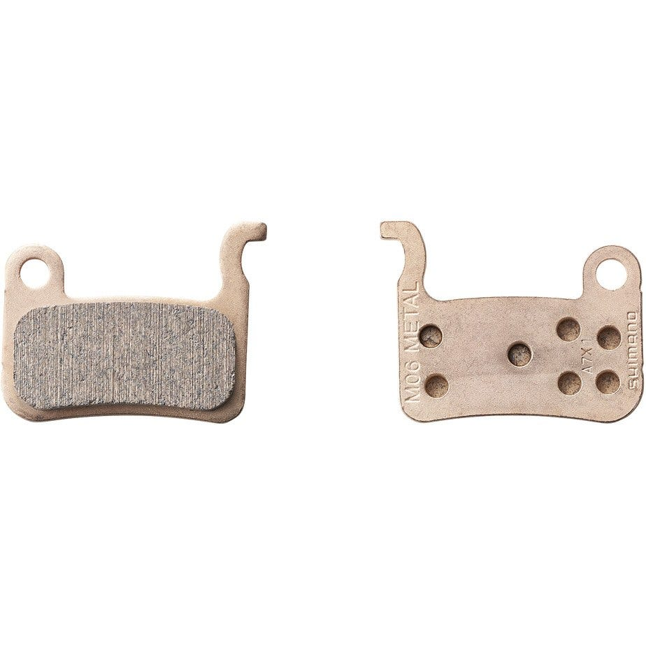 Shimano Spares M06TI disc brake pads and spring - titanium backed - sintered