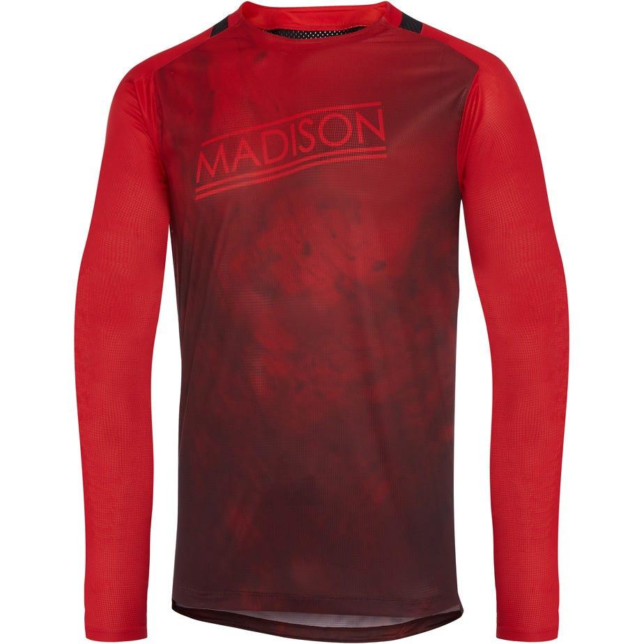 Madison Flux Enduro men's long sleeve jersey, marble