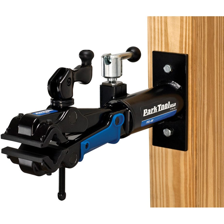 Park Tool PRS-4W-2 - Deluxe Wall-Mount Repair Stand With 100-3D Clamp
