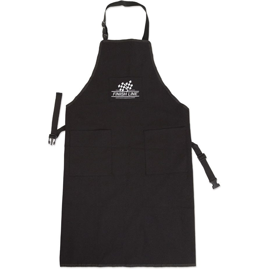 Finish Line Pro Shop apron