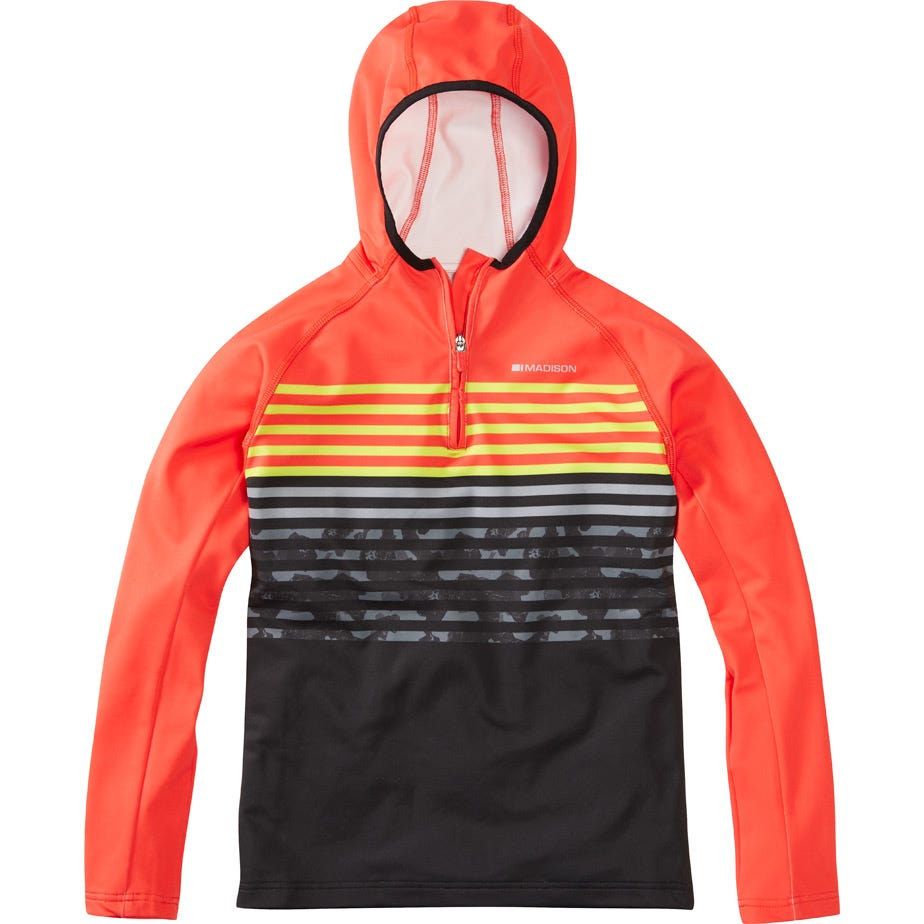 Madison Zen Youth Long Sleeve Hooded Top