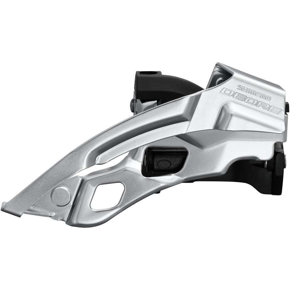 Shimano Deore Deore T6000-L triple front derailleur, top swing, dual pull, 66-69