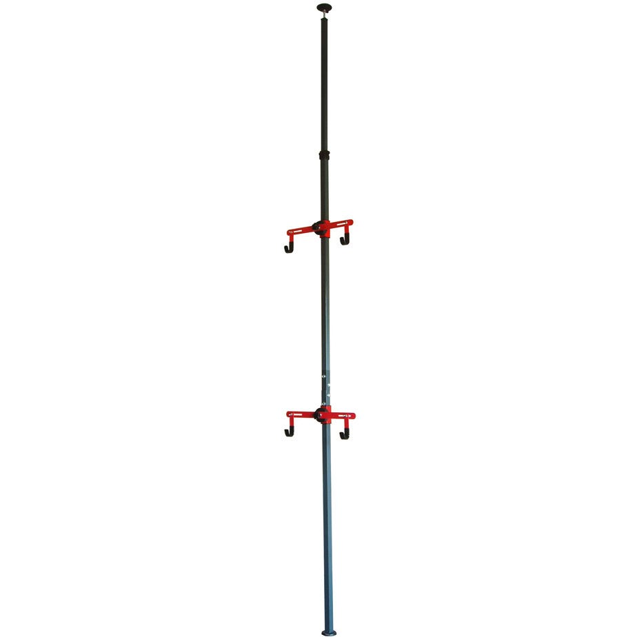 Gear Up Platinum Steel Floor-to-Ceiling rack