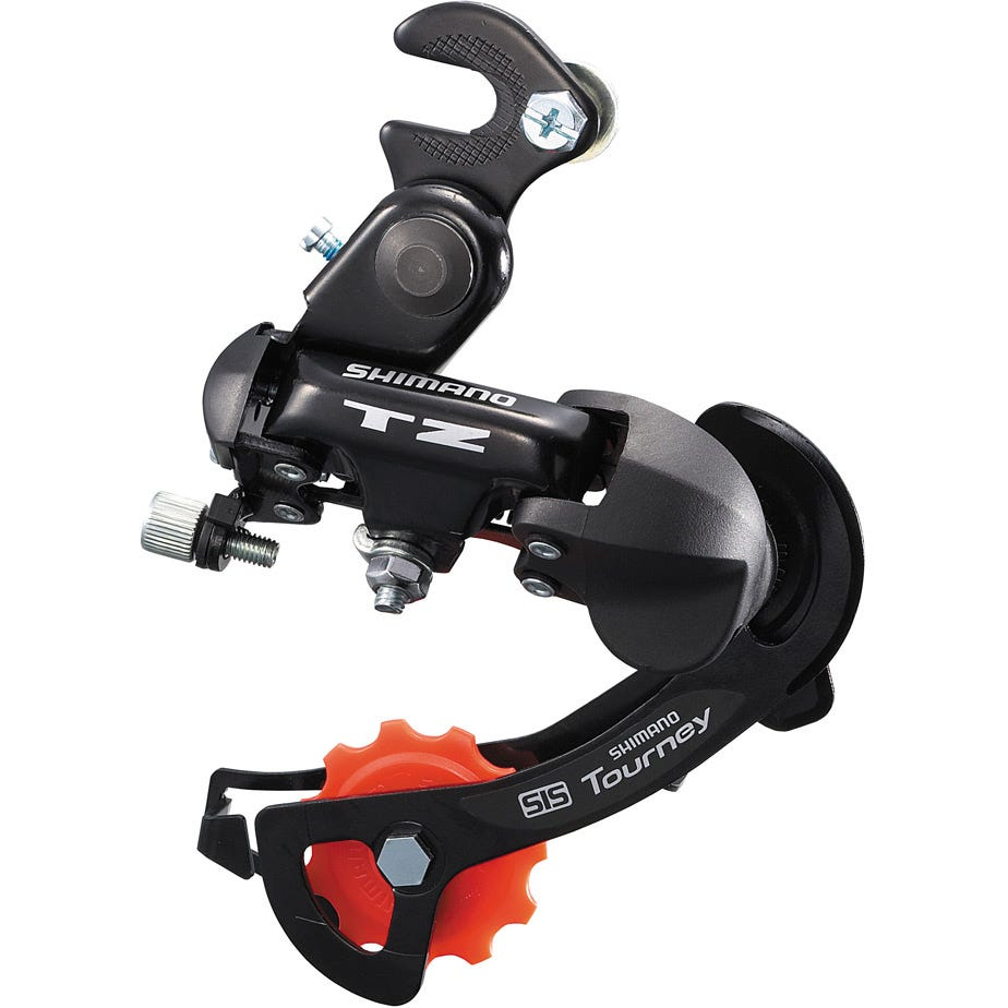 Shimano Tourney / TY RD-TZ500 6-Speed Rear Derailleur With Mounting Bracket