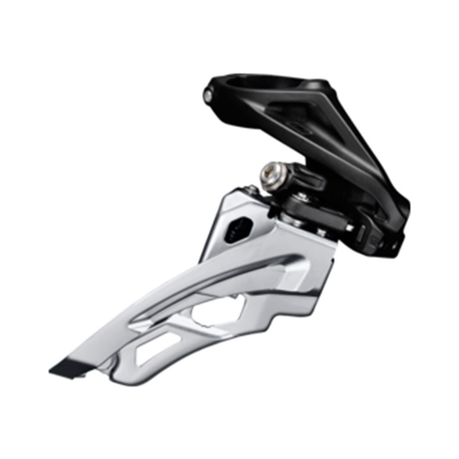 Shimano Deore Deore M612-L triple front derailleur, low clamp, side swing, front pull
