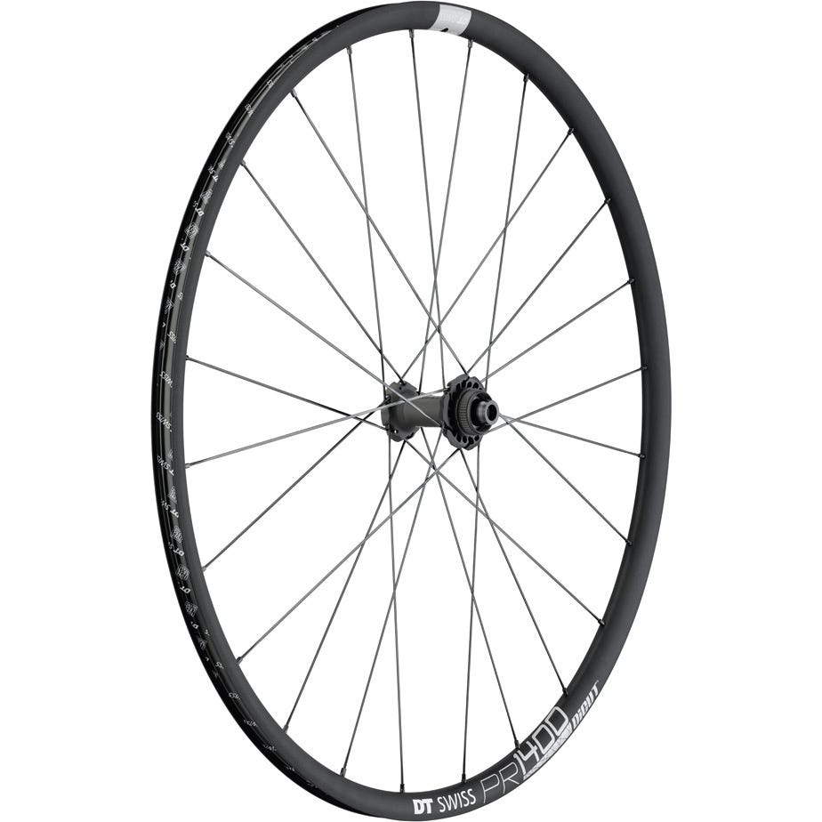 DT Swiss PR 1400 DICUT disc brake wheel, clincher 21 x 18 mm, front