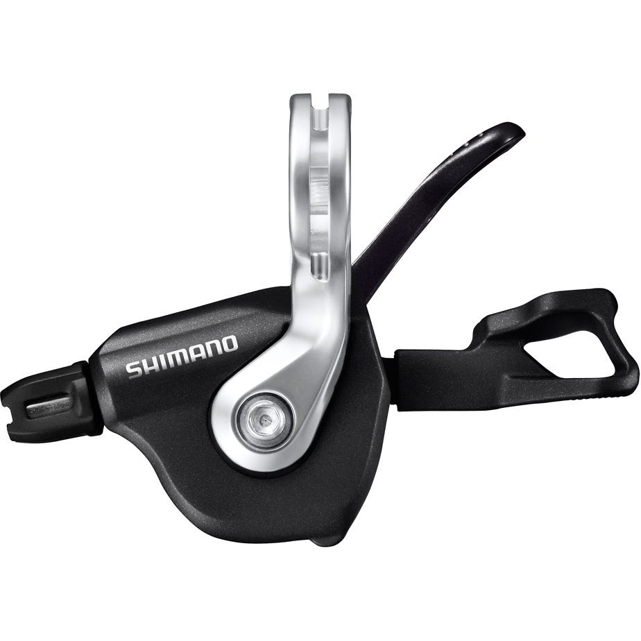 Shimano Ultegra SL-RS700 I-Spec-II Flat Bar Shift Lever, 2-Speed Left Hand, Black