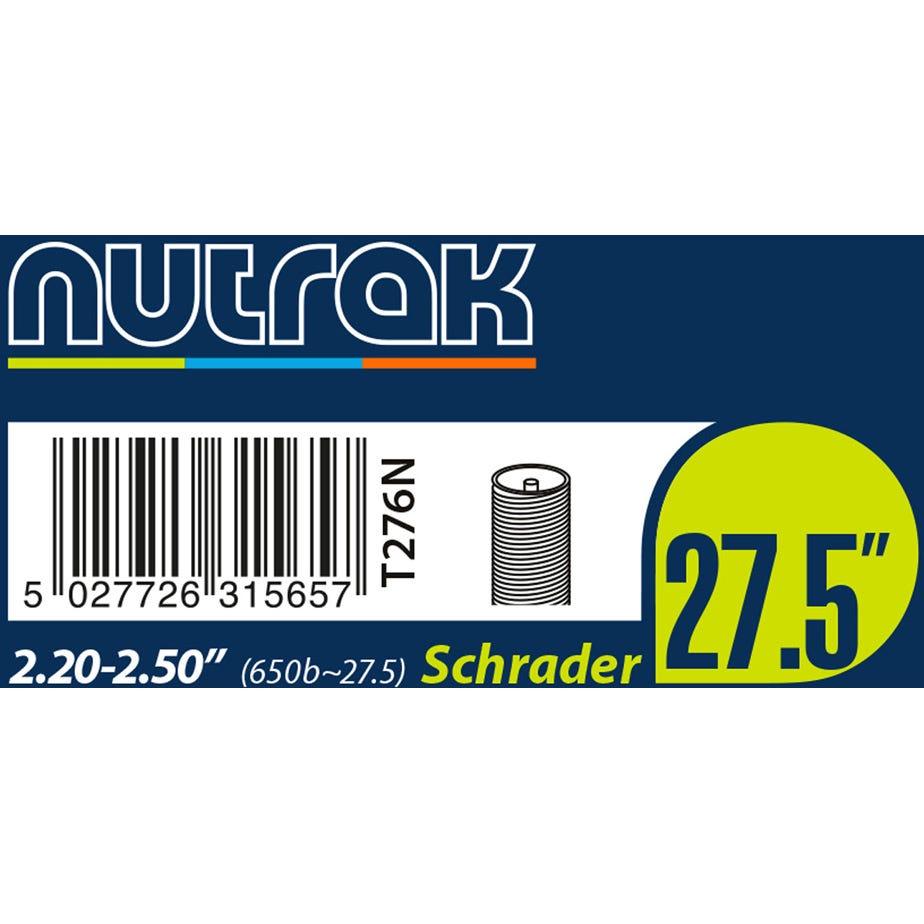 """Nutrak 27.5"""" or 650B x 2.2 - 2.5 Schrader inner tube"""