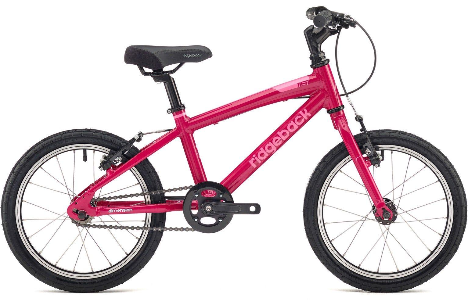 Ridgeback Dimension 16 inch bike pink Ex Display Bike