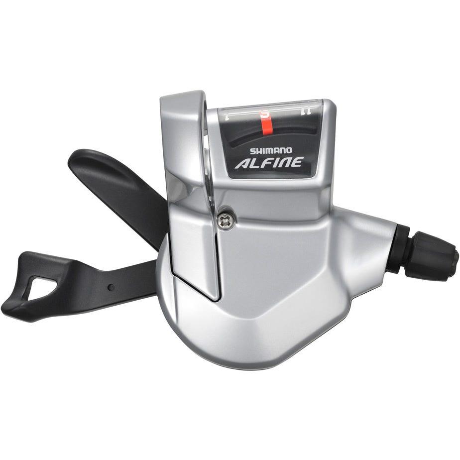 Shimano Alfine SL-S700 Alfine 11-speed Rapidfire lever - right hand - silver