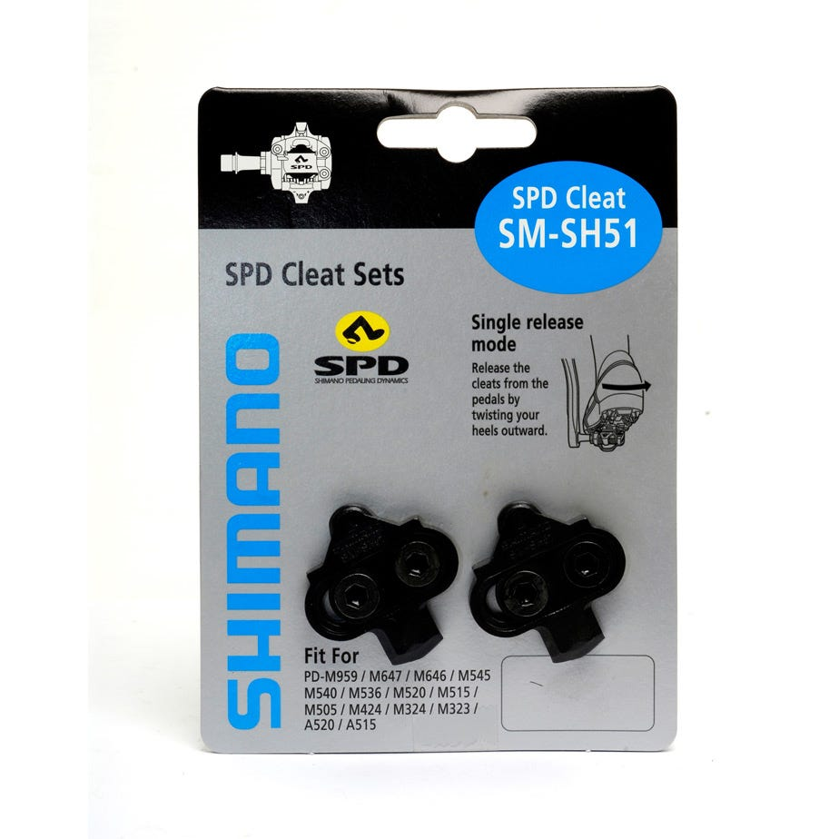 Shimano Spares SH51 MTB SPD cleats single release