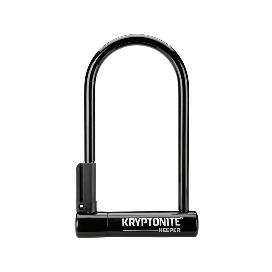 Kryptonite Keeper 12 Standard W/Bracket Sold Secure Silver