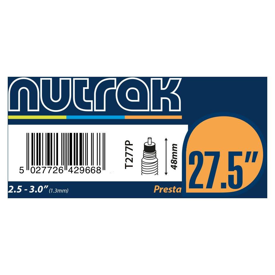 Nutrak 27.5 inch or 650B x 2.5 - 3.0 Presta inner tube