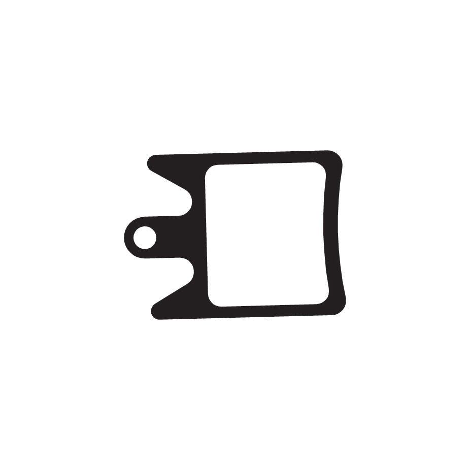 Aztec Organic disc brake pads for Hope Moto V2