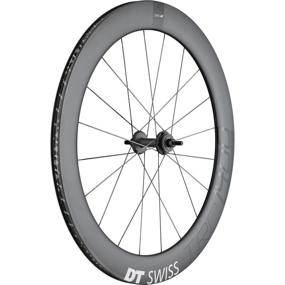 DT Swiss TRC 1400 DICUT track wheel, full carbon tubular 65 mm, rear
