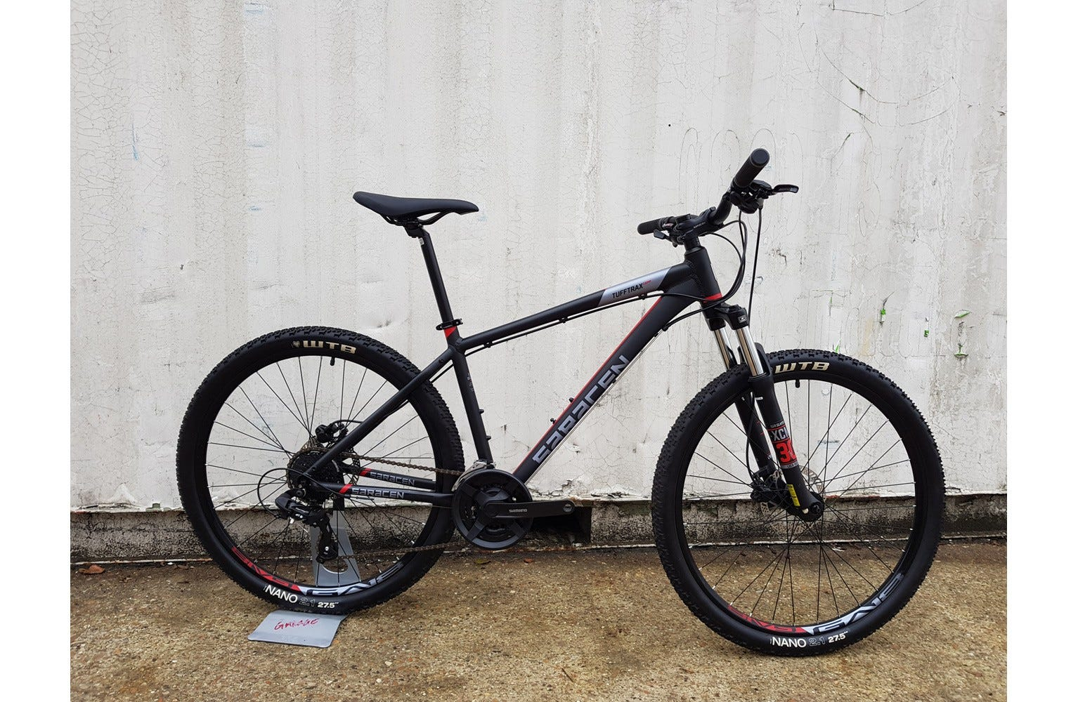 Saracen TuffTrax Comp Hydro Disc 17 inch Ex Brand Sample Bike