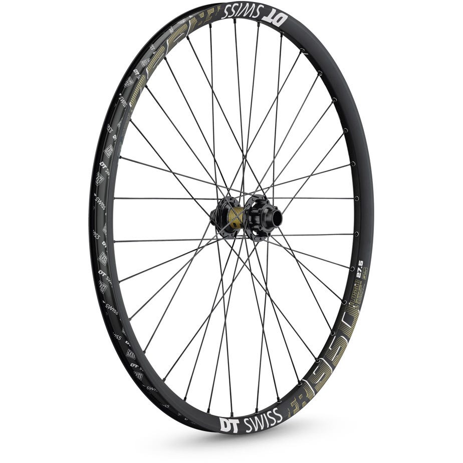 DT Swiss FR 1950 wheel, 27.5 mm rim, 110 x 15 BOOST mm axle, 27.5 inch front
