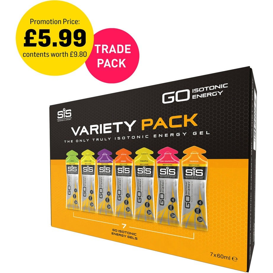 Science In Sport Variety Pack of Isotonic Gels
