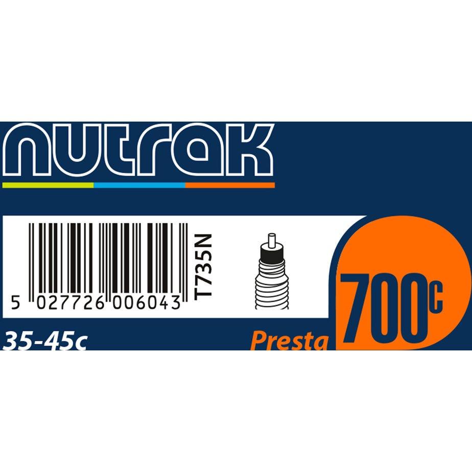 Nutrak 700 x 35 - 45C Presta inner tube