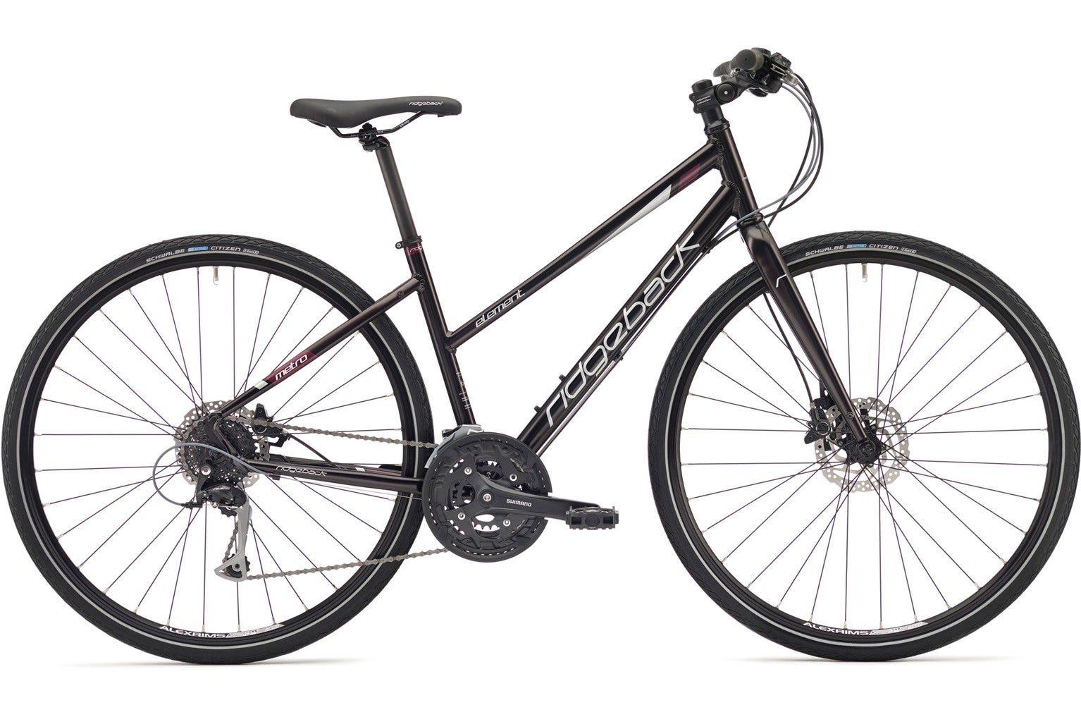 Ridgeback Element open frame 17 inch bike ex display