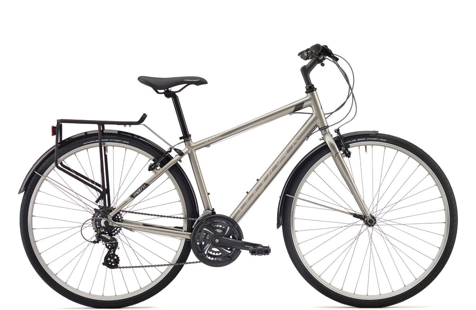 Ridgeback Speed 19 inch bike silver Ex Display