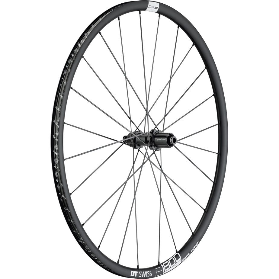 DT Swiss E 1800 SPLINE MY19 disc brake wheel, clincher 23 x 20 mm, rear