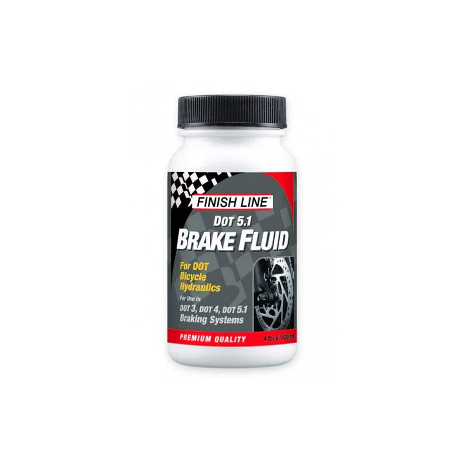 Finish Line DOT 5.1 Brake Fluid-  4 oz / 120 ml