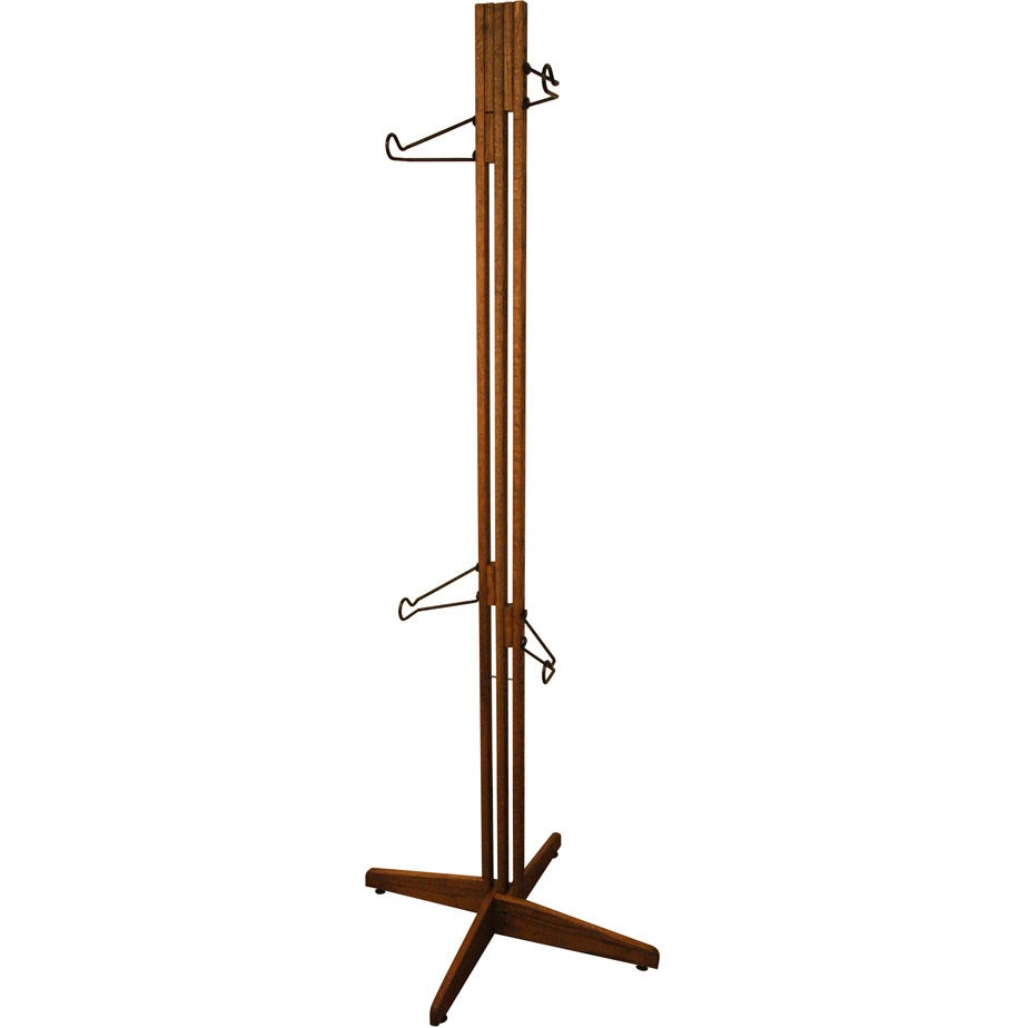 Gear Up OakRak Freestanding 2 / 4-bike rack - Walnut