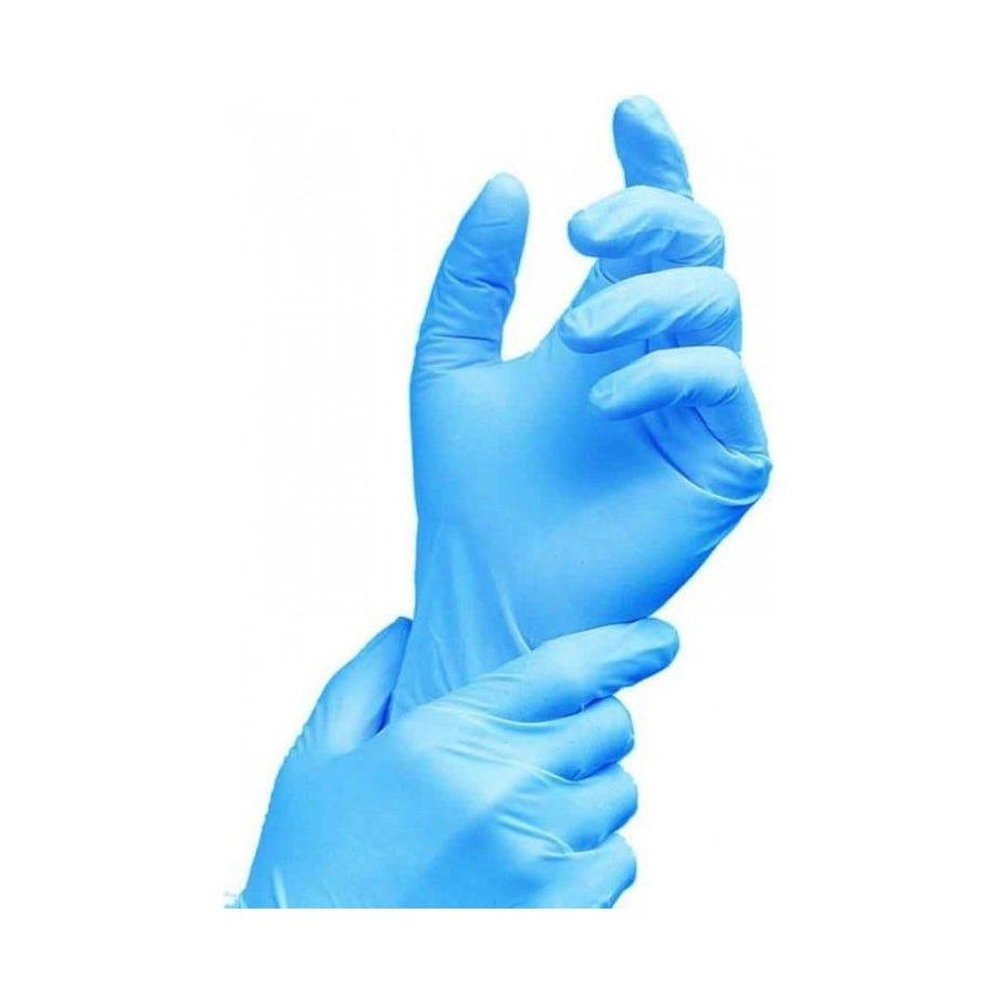 Rema Tip Top Nitrile Disposable Gloves POWDER FREE BLUE (100)