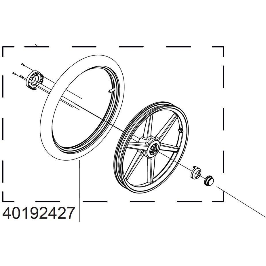 Thule 40192427 Wheel for Urban Glide