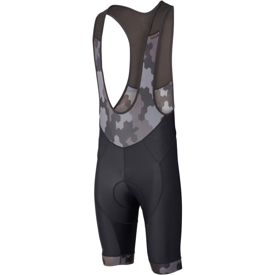 Madison RoadRace Apex men's bib shorts, hex camo