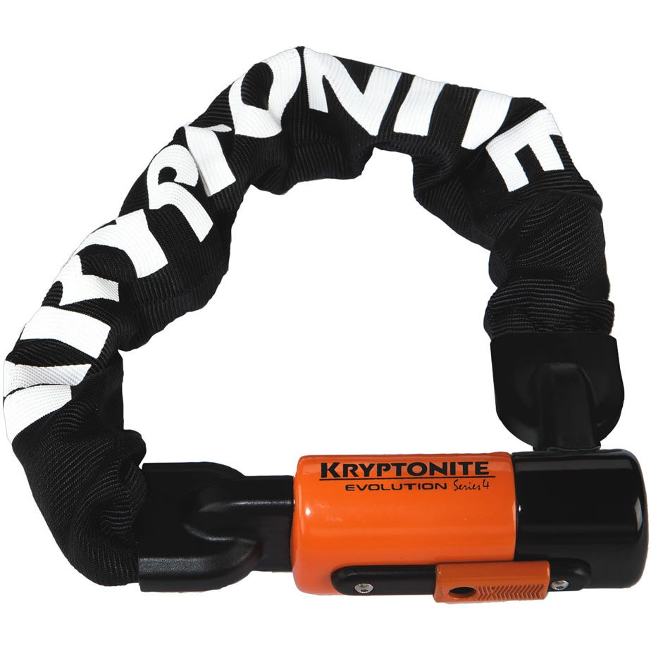 Kryptonite Evolution 1055 Integrated Chain - 10 mm X 55 cm Sold Secure Gold