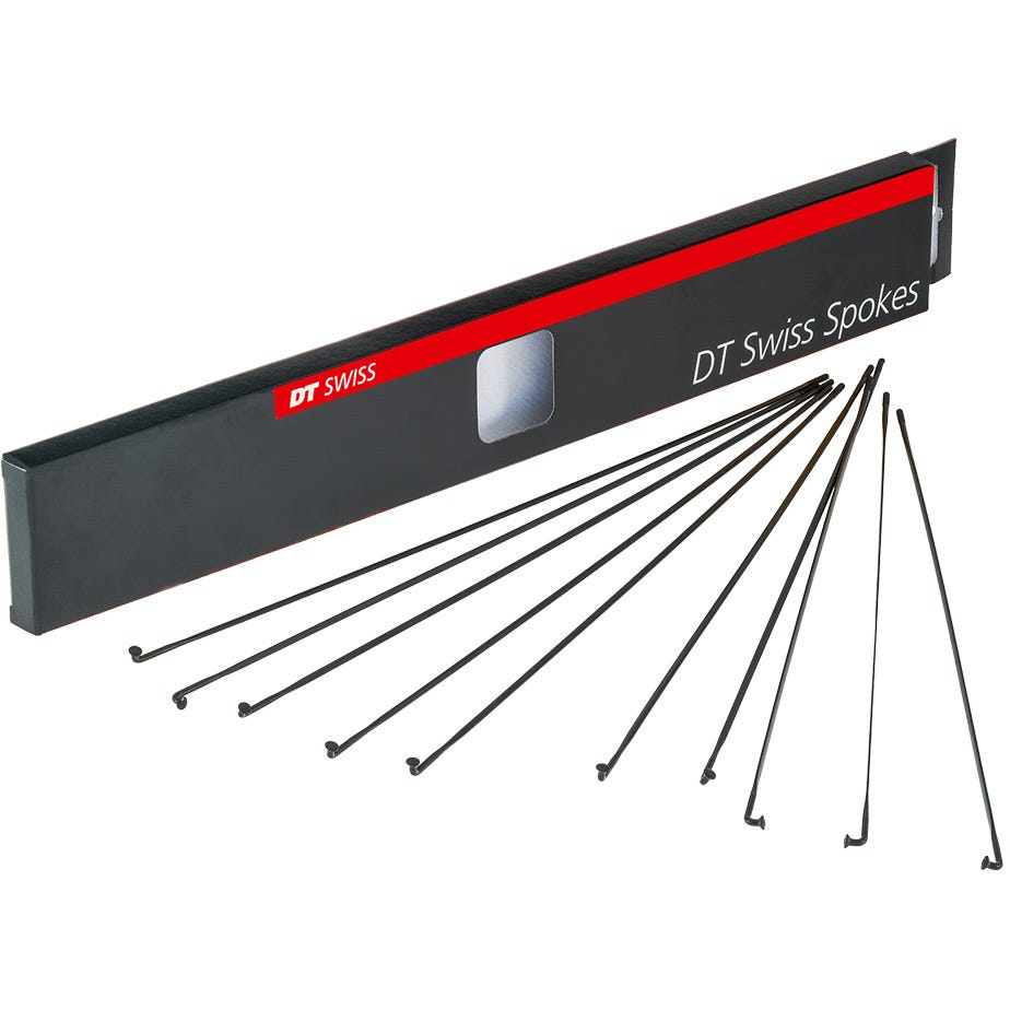 DT Swiss Aero Comp 14 / 15 / 14 g = 2 / 2.3 x 1.2 / 2 mm box 20, black