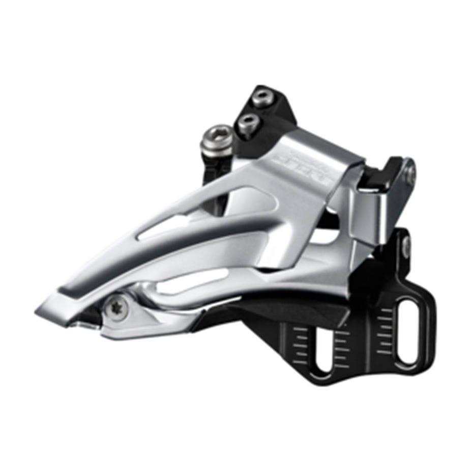 Shimano Deore Deore M618-E double front derailleur, E-type, top swing, dual pull