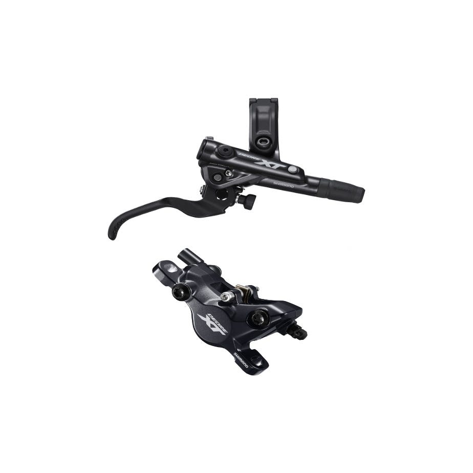 Shimano Deore XT BR-M8100 XT bled I-spec-EV compatible brake lever and calliper