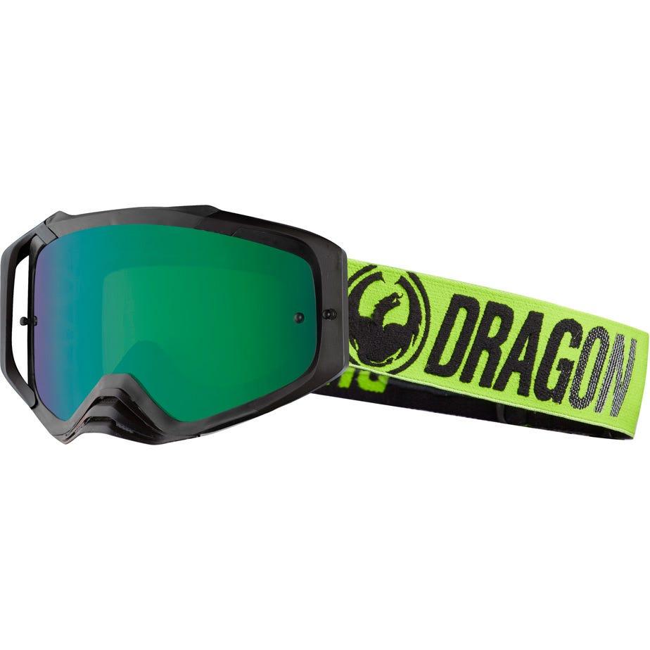 Dragon Goggles MXV MAX Break Green / Green Ion