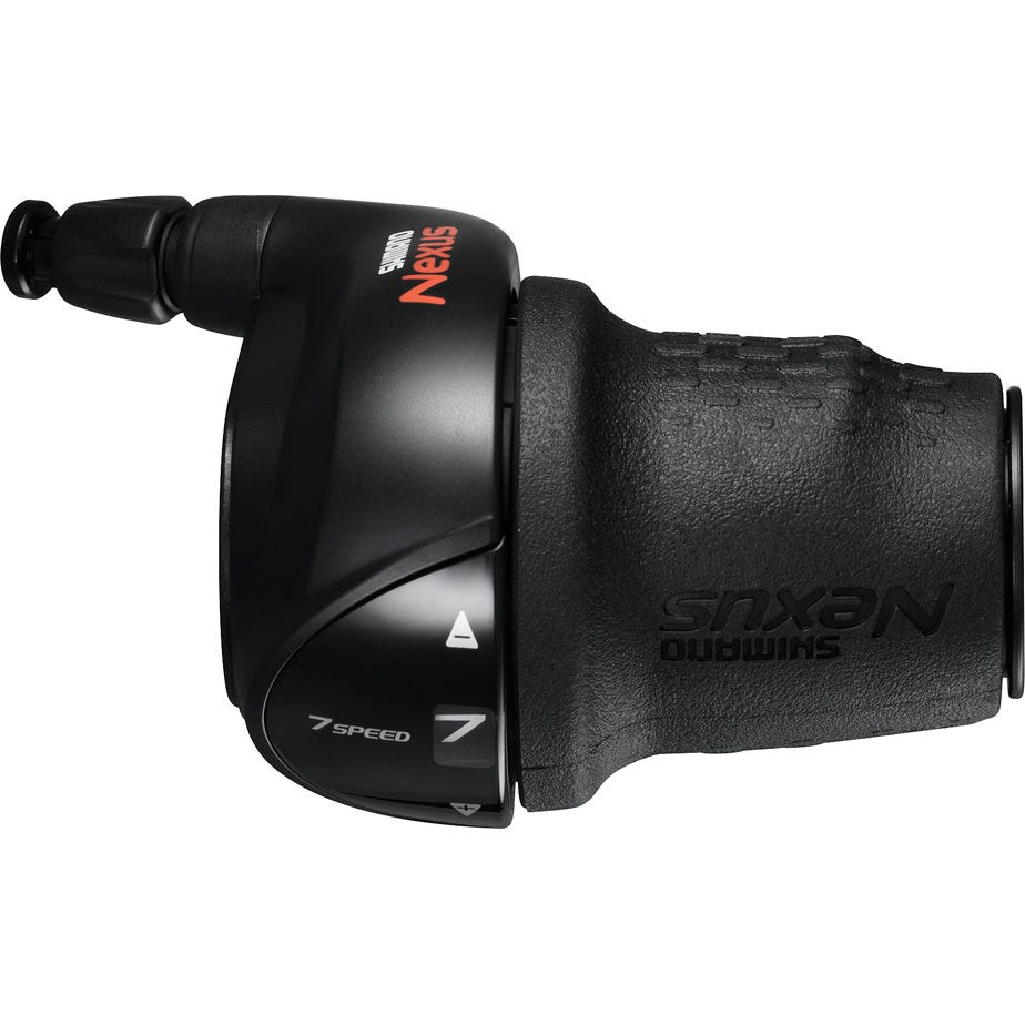Shimano Nexus SL-C3000 Nexus 7-speed Revo shifter, right hand, black
