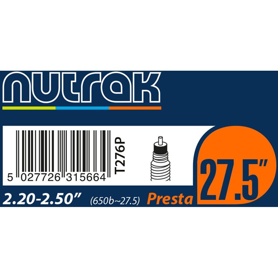 """Nutrak 27.5"""" or 650B x 2.2 - 2.5 Presta inner tube"""