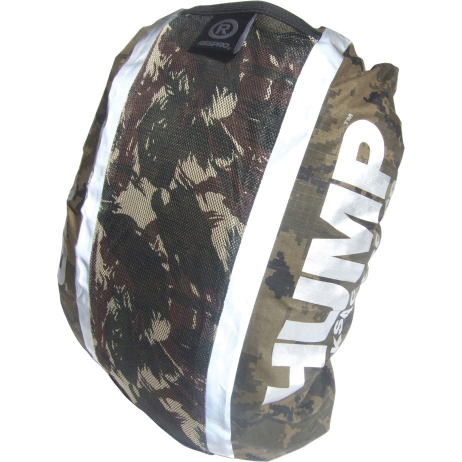Hump Hi-Viz  rucsac cover waterproof dark (wood) camo