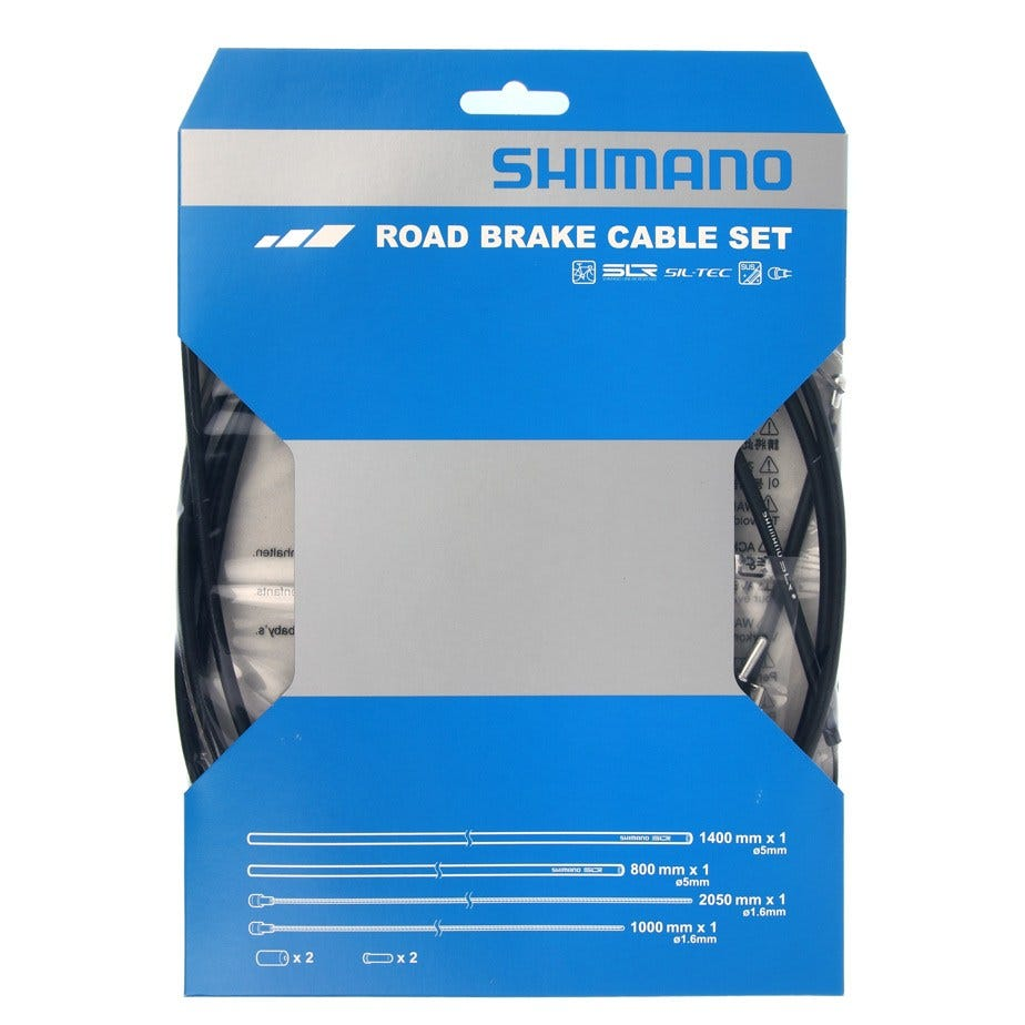 Shimano Dura-Ace Road brake cable set with SIL-TEC coated inner wire