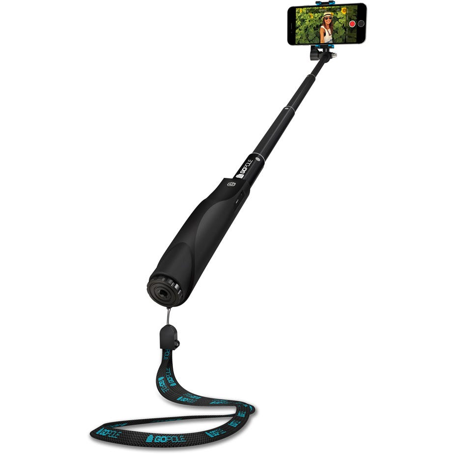 GoPole Reach Snap - 5-26 inch Extension Pole for Mobile Devices